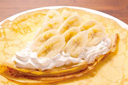 生クリーム&バナナ