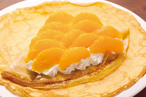 生クリーム&オレンジ