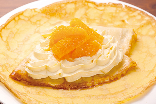 カスタード&オレンジ