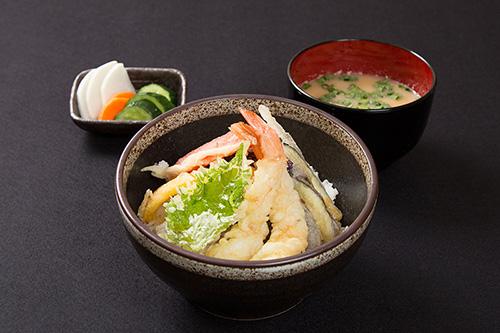 天ぷら盛り合わせ丼