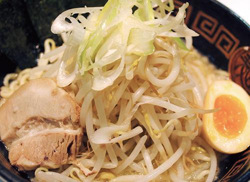 たっぷり野菜塩らー麺